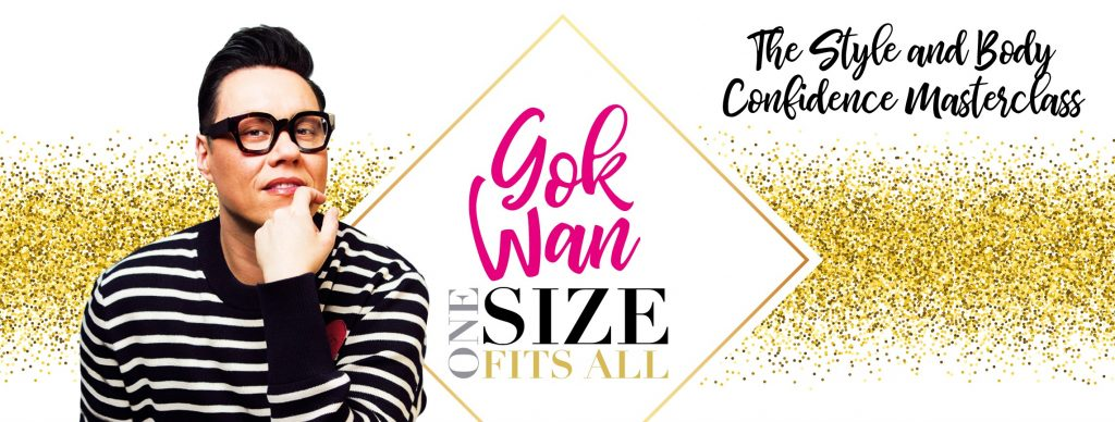 Gok Wan One Size Fits All fashion Event